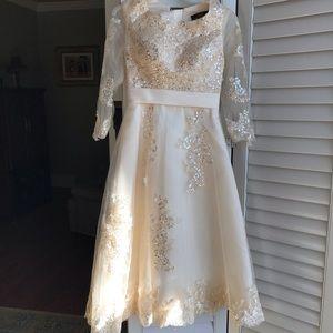 Dresses & Skirts - Beautiful embellished dress with corset back